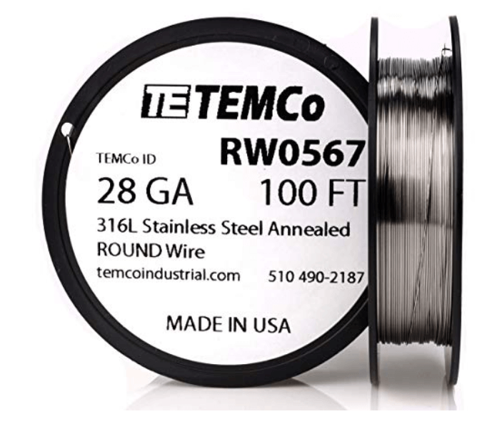 TEMCo Stainless Steel Wire